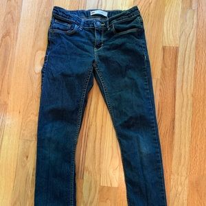 Girls' Levi's jeans in size 10